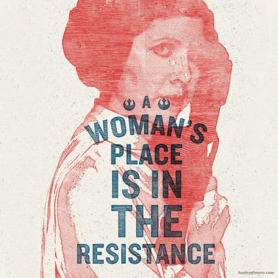 Hayley Gilmore's Princess Leia Resistance