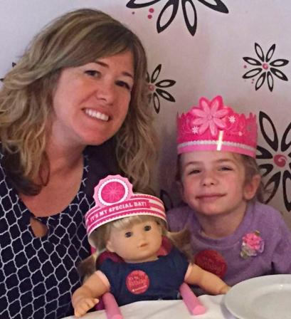 Jen with Niece